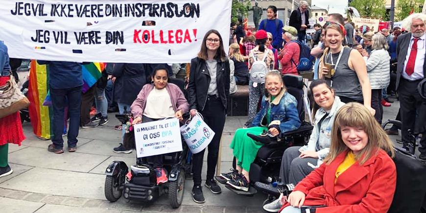 Norges Handikapforbunds Ungdom (NHFU) er en organisasjon av og for funksjonshemmet ungdom. De jobber for full frihet og likestilling for funksjonshemmede.