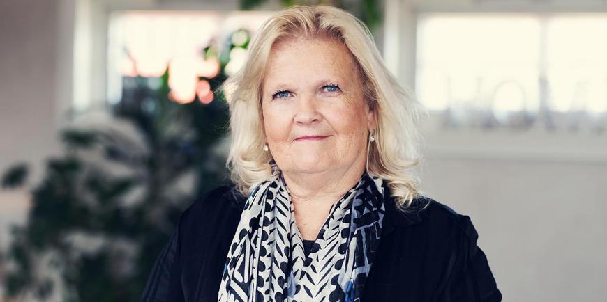 Portrett av Leder for YS Kommunbe, Lizzie Ruud Thorkildsen.