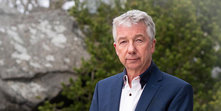 Portrett av Pål N. Arnesen, leder i YS Stat.